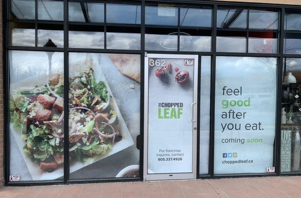 Chopped Leaf opening soon at The Junction