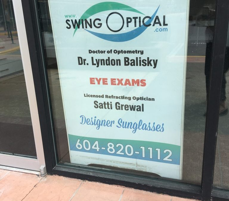Swing Optical NOW OPEN